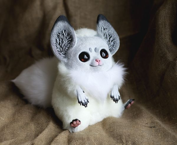 Creepy yet adorable fantasy dolls by Santani - ego-alterego.com This one is just too cute!