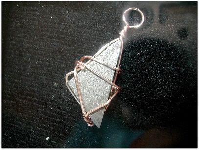 Gibeon meteorite pendant A