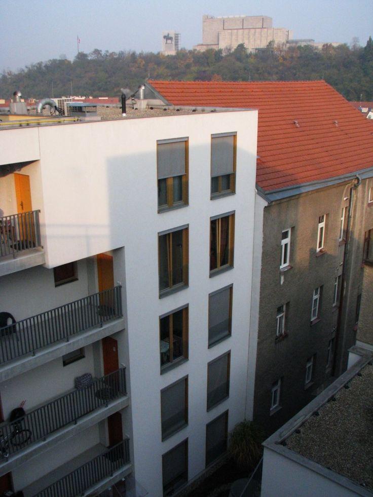 Praha 3, Žižkov, polyfunkční dům Eucon - Národní památkový ústav