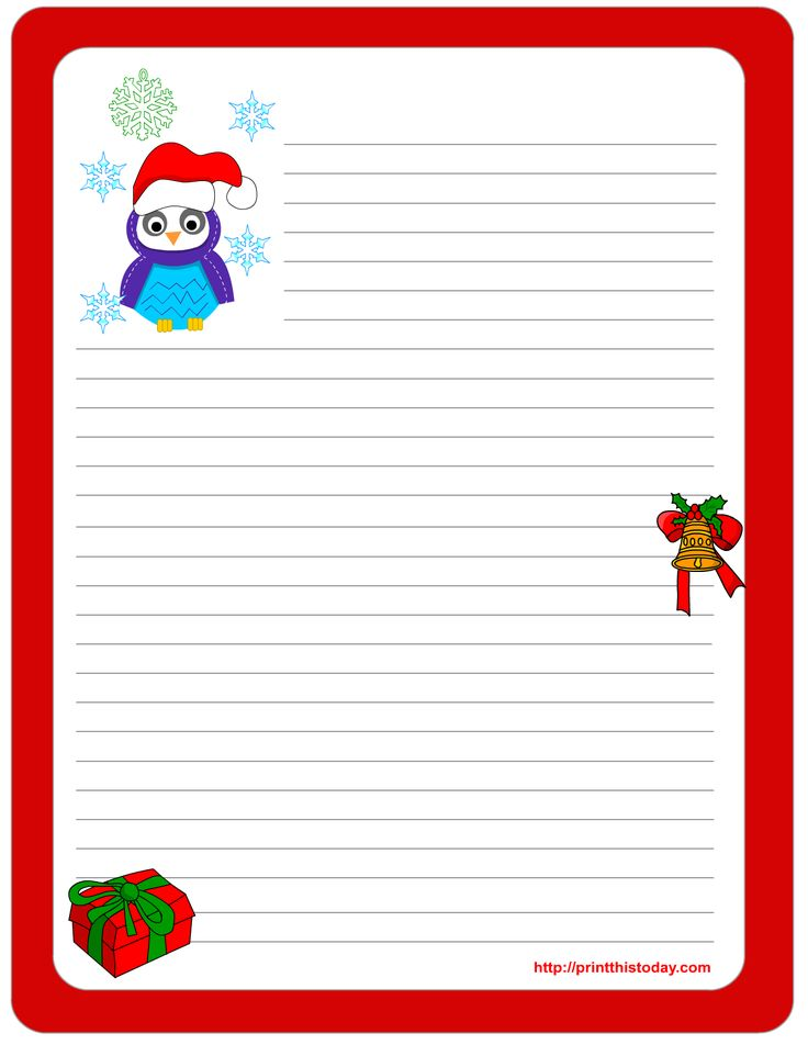 111 best Christmas Stationery images on Pinterest Decorative - christmas list templates