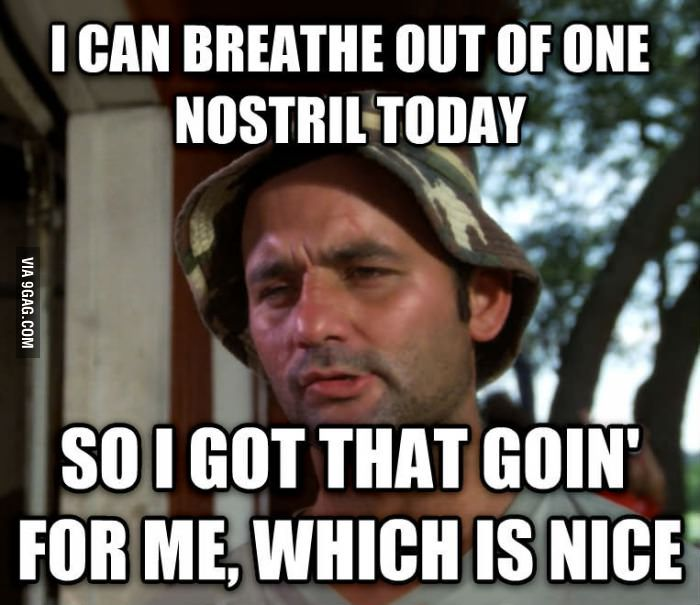 Cold and flu season... | Humorous | Pinterest | Funny gym ...