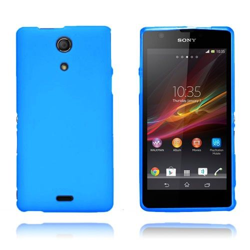 GelCase (Blå) Sony Xperia ZR Deksel