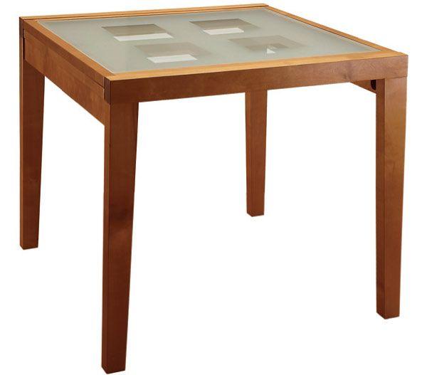 Стол обеденный Боровичи раздвижной со стеклом | Кухонные столы Боровичи