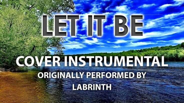 Let It Be (Cover Instrumental) [In the Style of Labrinth]
