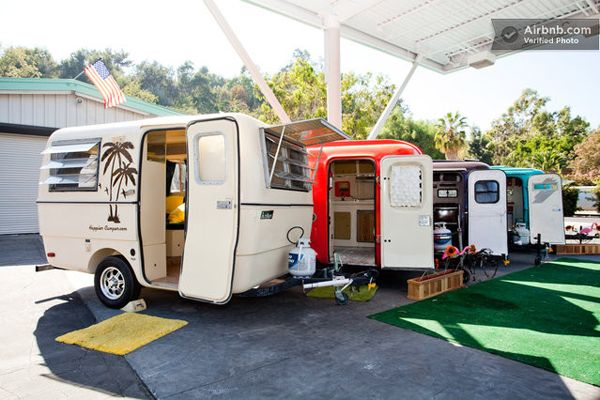 Super cool campers for rent in Los Angeles.