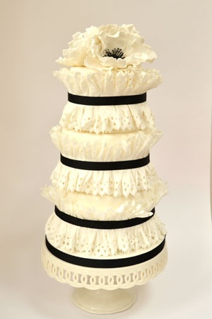 755 Best Images About White Wedding Cakes On Pinterest