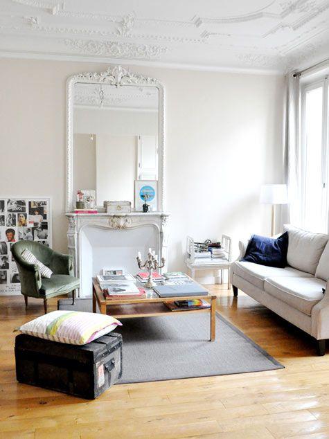 """Appartement de Morgane Sézalory, fondatrice de la marque """"Les composantes"""""""