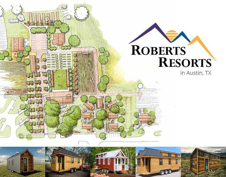 New Tiny House Hotel from Roberts Resorts & Tumbleweed - Tumbleweed Houses
