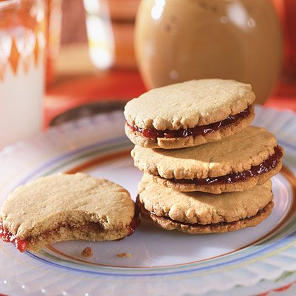 Diabetic Peanut Butter and Jelly Sandwich Cookies