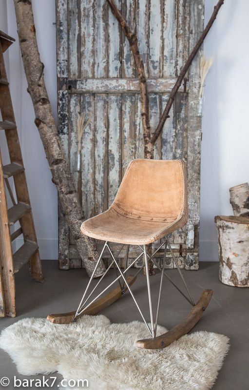 Industrial rocking-chair