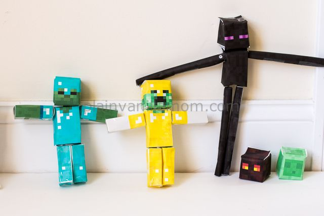 Minecraft Papercraft Studio - Plain Vanilla Mom