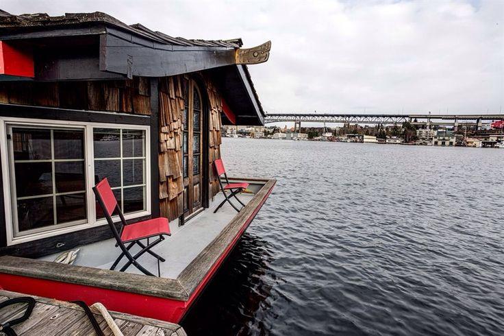 Tinyhousedarling Haida Houseboat House Boat Tiny House