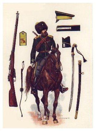 Kozak zabajkalski atamana Siemionowa 1918 - 1921