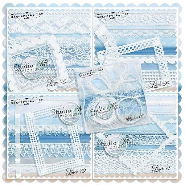 Laces - new BUNDLE   wonderful meshes GRATIS! http://shop.scrapbookgraphics.com/Lace-Commercial-Use-Bundle-02-Meshes-FREE.html
