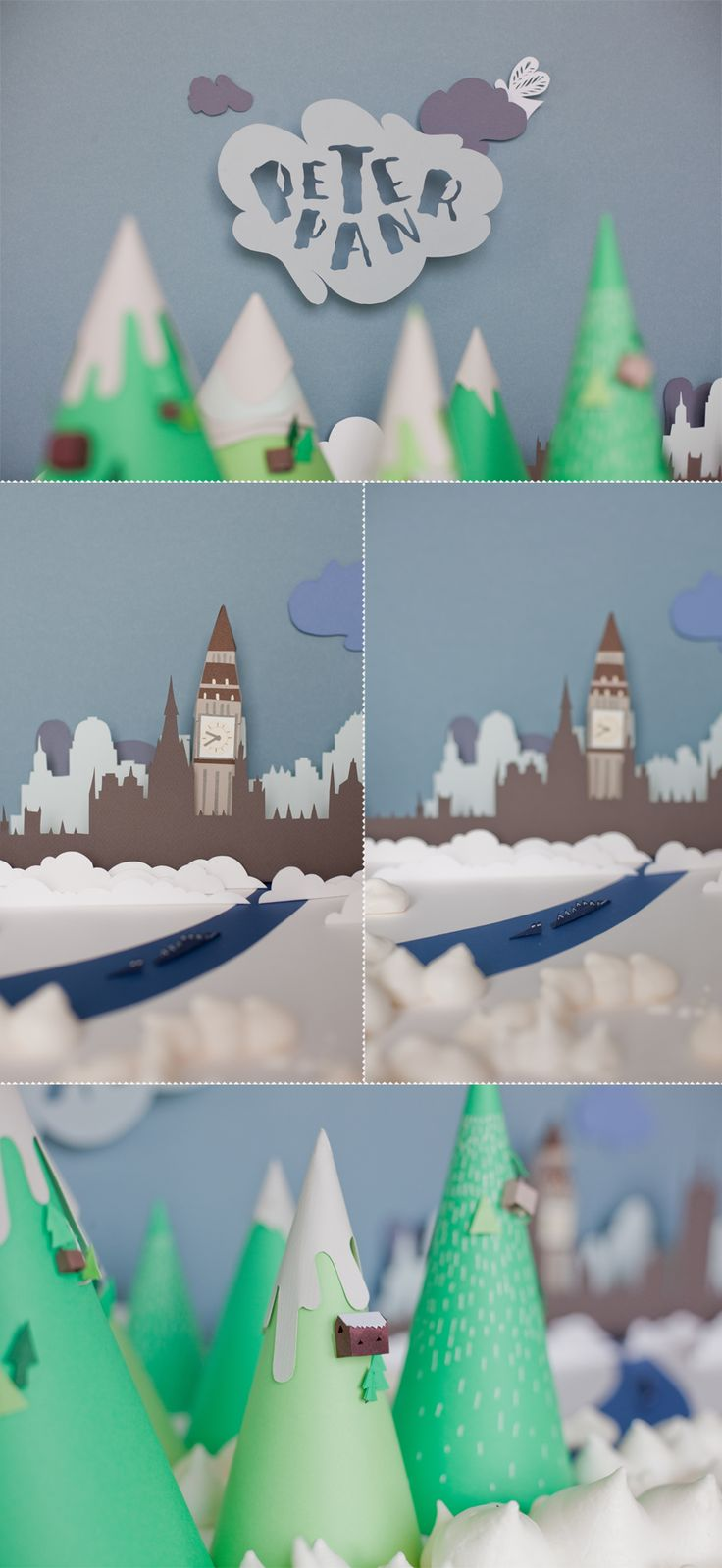 #DIY Peter Pan - Tales & Stories with papercut and food ( working with pointropnenfaut )