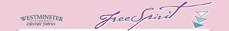 Free Spirit Fine Quilting Fabric.  Dozens of free PDF quilt patterns.