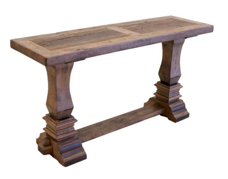 Sofa Tables San Pedro Handcrafted Sofa Table Western Sofa Tables Handcrafted sofa console table in Alder wood