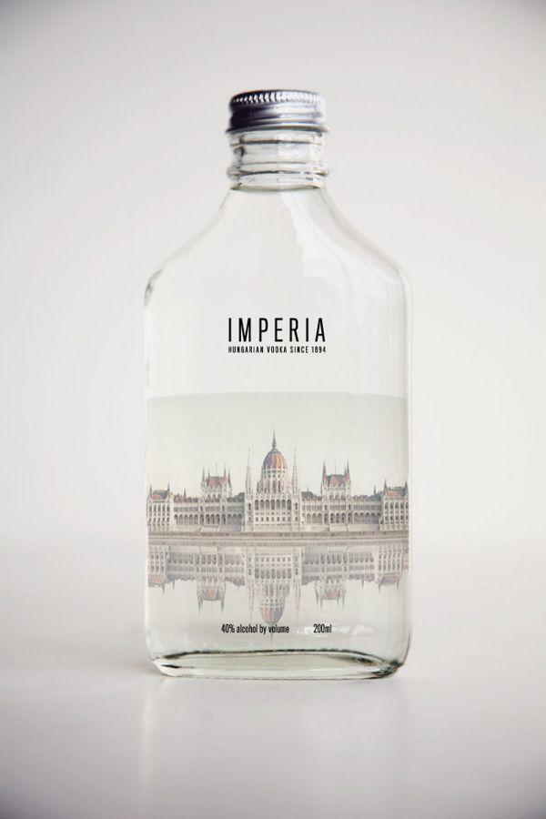 IMPERIA VODKA by Gian Maria Fattore, via Behance
