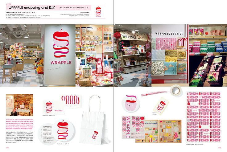 WRAPPLE: Shop Image Graphics in Tokyo+