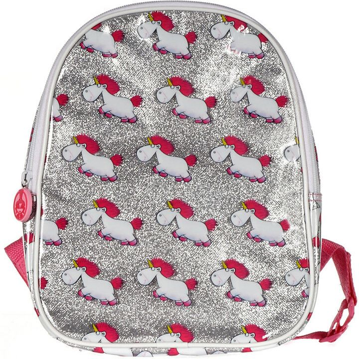 For keeping your little minion happy, this gloriously cute backpack from the people at Minions is ideal for bringing a touch of mischievous glamour to the schoolyard. Shimmering with glitter and accented all over with charming cartoon unicorns, the bag will hold your kid's books and stationery.