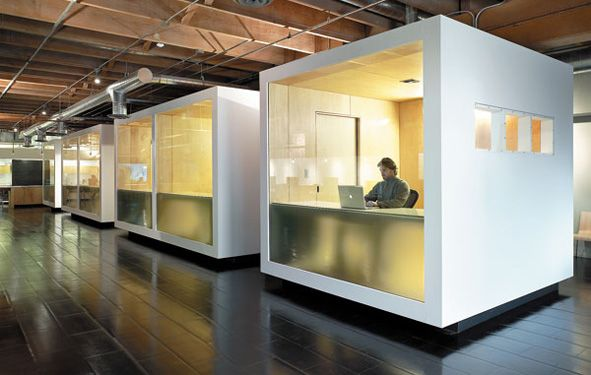 I guess if you have to be in a cube this is the best way for Best cubicle design