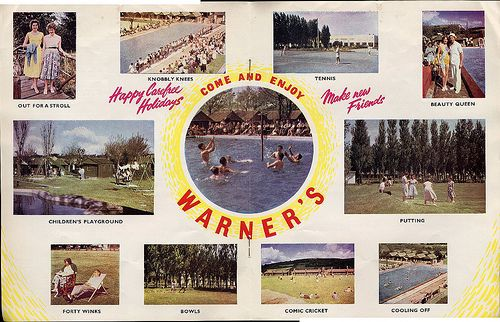 Warners Holiday Camp Brochure 1957. I would give anything to return as an eight year old child to Warner's St,Clare's holiday camp near Ryde on the Isle of Wight.