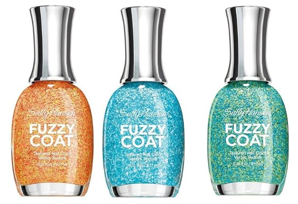 Stroke the Furry Wall with Sally Hansen Fuzzy Coat Nail Polish