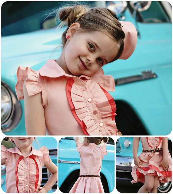 Just Peachy by bitsy bear.  Lovely, vote at http://projectrunandplay.blogspot.com.
