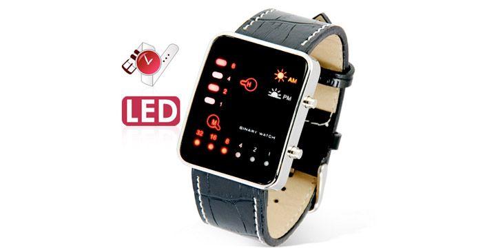 Reloj Binario LED. AHORRO 23%. 14.50€. #ofertas #descuentos