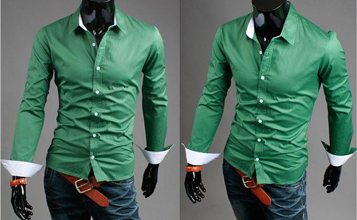 traje con camisa verde - Buscar con Google