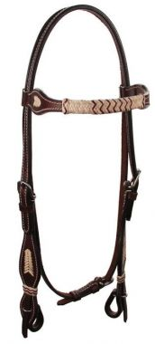 Check out the deal on Two-Tone Rawhide Browband Headstall at Chicks Discount Saddlery