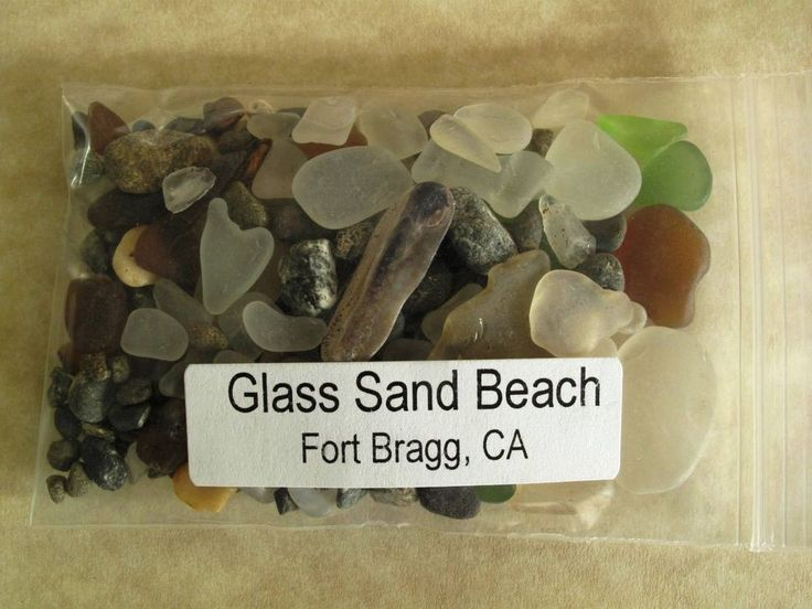 GLASS BEACH ~ FORT BRAGG, CA ~  BEACH GLASS SAND sample   http://www.ebay.com/itm/291117828819?ssPageName=STRK:MESELX:IT&_trksid=p3984.m1558.l2649