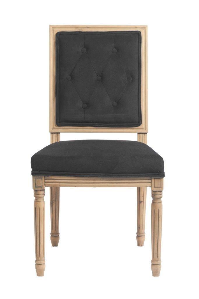 Графитово-серый и бежевый – это сочетание, которое уместно во все времена. Этот стул выполнен именно в такой цветовой гамме. Каркас сделан из дерева с модным сейчас эффектом «под антик». Стул имеет мягкую спинку и удобное виденье, они обиты вельветом серого цвета. Несколько таких стульев будут выигрышно смотреться в сочетании с обеденным столом из светлого дерева.             Метки: Кухонные стулья.              Материал: Ткань, Дерево.              Бренд: DG Home.              Стили…
