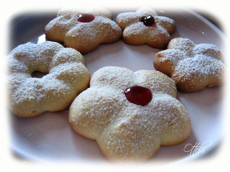 Petits fours aux amandes pour presse à biscuits - Aux Petits Bonheurs d'Ottoki...