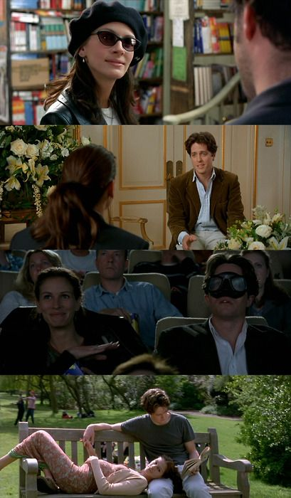 Notting Hill (1999) - starring Julia Roberts as Anna Scott & Hugh Grant as William Thacker
