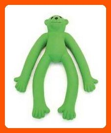 Coastal Pet Products DCP83057 Latex Rascals Long Legged Monkey Dog Toy, 11-Inch, Green - For our pretty pets (*Amazon Partner-Link)