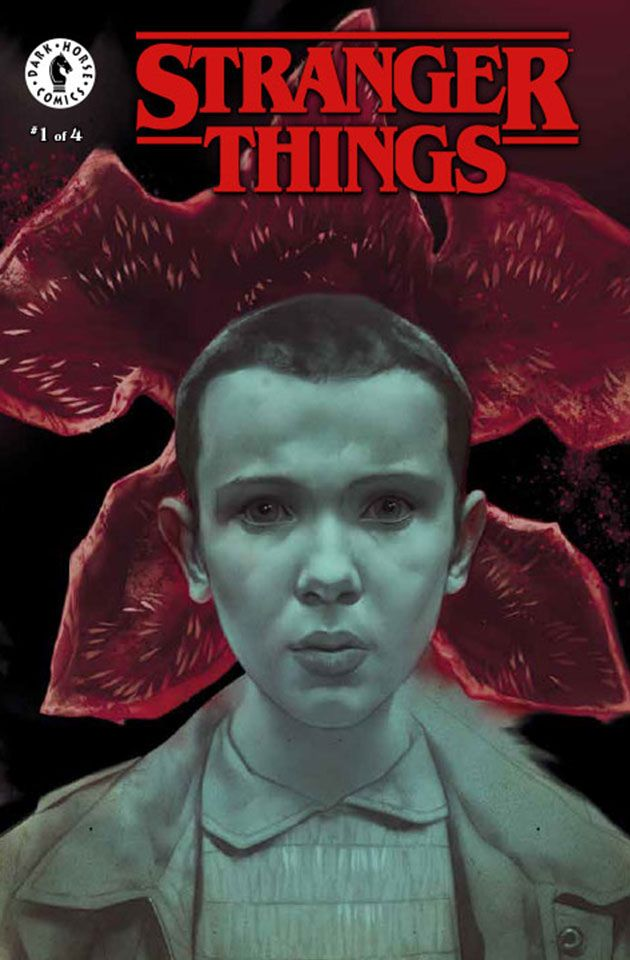 STRANGER THINGS #1 ALL 4 COVER VARIANTS