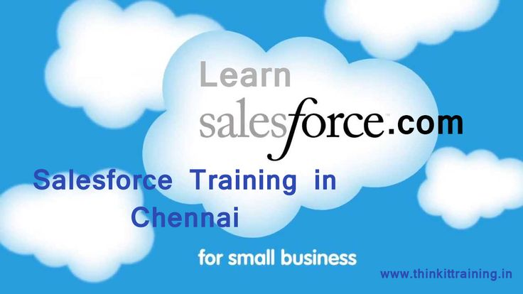 learn salesforce training in Chennai to develop your business in smart way to store the data and information