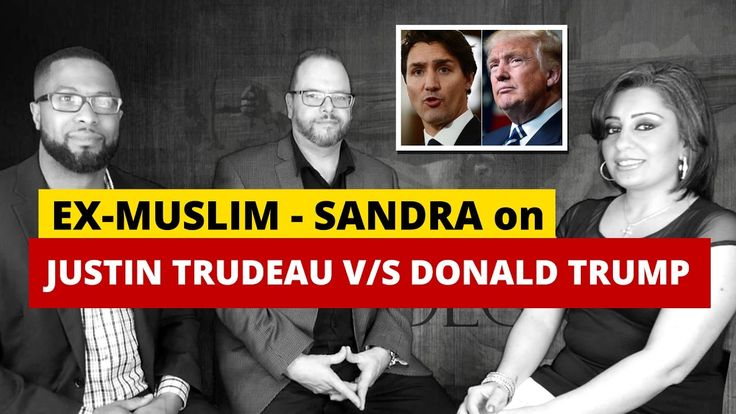Ex-Muslim Sandra Solomon on How Justin Trudeau Betrayed Canada - Sharia ...
