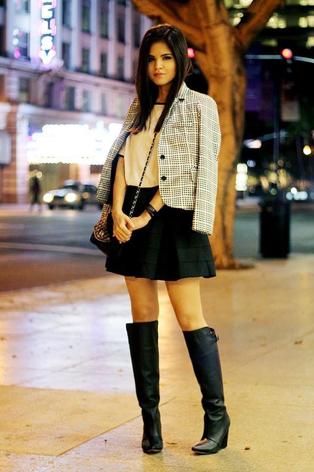 Mini Falda con medias Tubetriacom