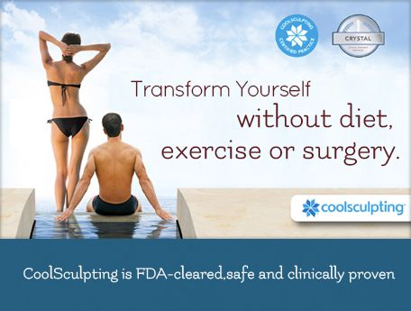 HUGE NEWS!! Lose Fat without diet or exercise! All you need is CoolSculpting at Massey Medical! Safely Freeze your fat away PERMANENTLY in 1 hour. NO exercise, NO Diets, NO painful lasers, NO down time, NO needles, NO surgery, and NO anesthesia. Consultations are Free. Pricing for services varies on areas treated, number of treatments required, etc. Package deals available. Call 423-994-8243 or visit Masseymedical.com for more information.