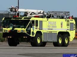At the New York area Airports the Port Authority Police are also the Aircraft Rescue and Fire Fighters.