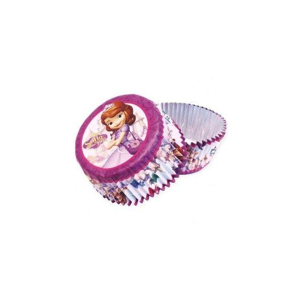 pirottini per muffin della principessa Sofia http://www.lefestediemma.com/shop/it/festa-principessa-sofia/493-sofia-la-principessa-24-pirottini-da-forno-0013051468996.html