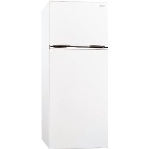 frigidaire ffpt10f3mf 9.9 cu ft top freezer apartment size refrigerator white