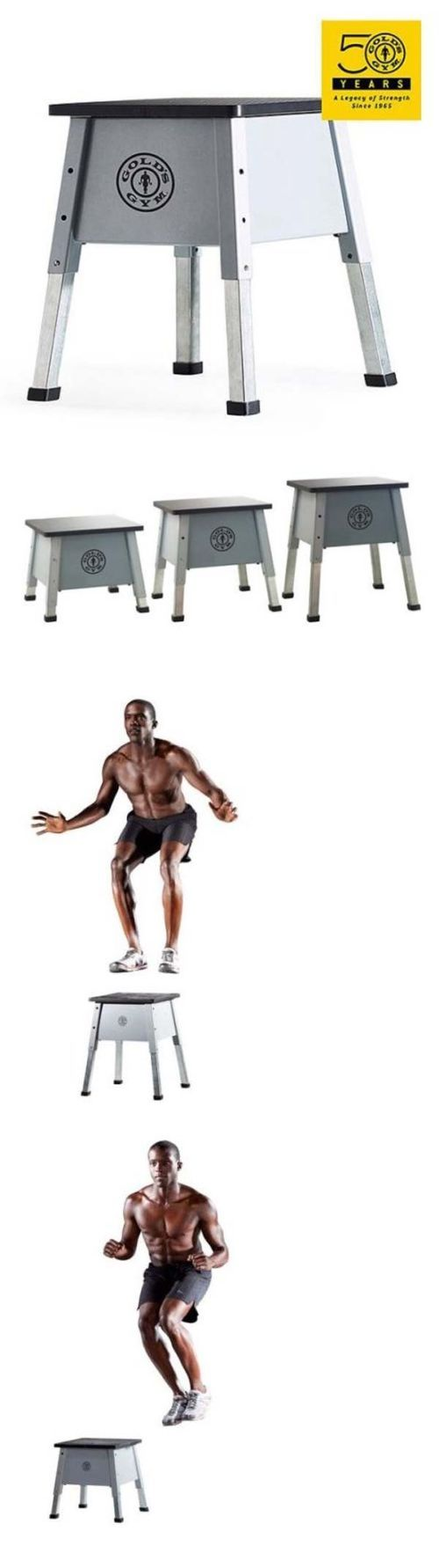 Step Riser Sets 44080: Golds Gym Extreme Adjustable Plyometric Steel Jump Box Step Riser Equipment New -> BUY IT NOW ONLY: $60.95 on eBay!