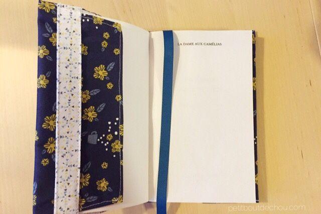 couverture ajustable pour livre