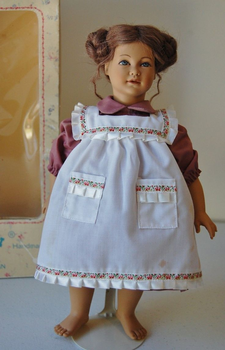 "11 5"" Vintage Heidi Ott Doll in Original Box Swiss Doll 