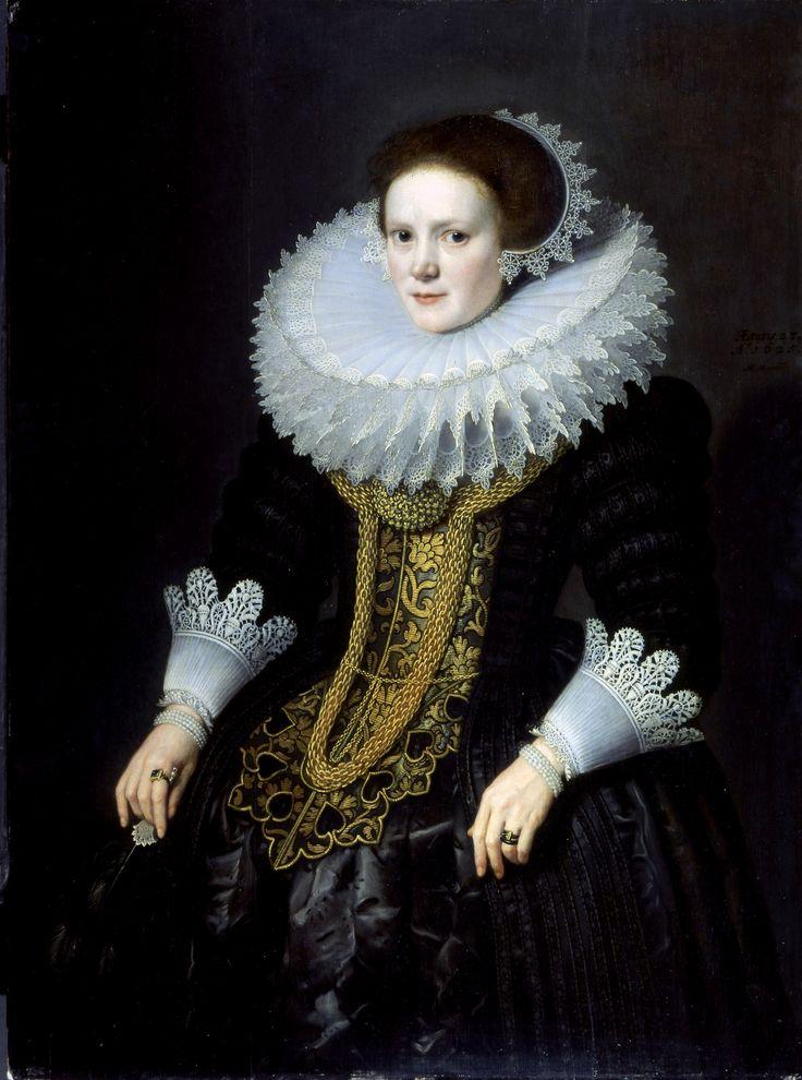 Portrait of a woman / Portrait de femme, by / selon Michiel Janszoon van Mierevelt