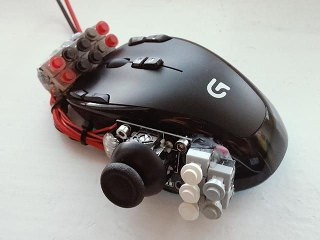 Reddit Disabledgamers 25 Button Thumbstick Gaming Mouse Mod