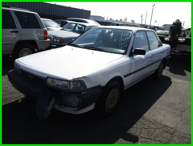 Awesome Great 1990 Toyota Camry Deluxe 1990 Toyota Camry  Deluxe Used 2L I4 16V No Reserve 2018